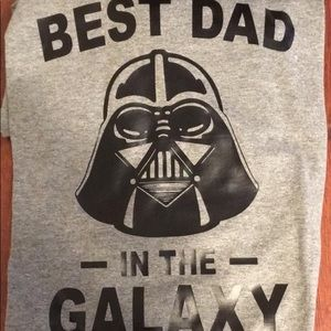 Other - Best Dad in the Galaxy Star Wars Graphic Tee - XL
